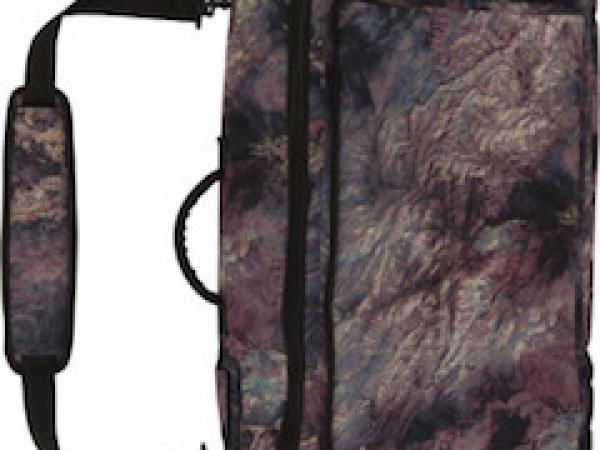 Wheelie gig bag earth print