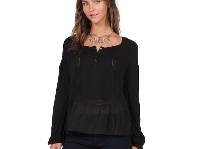 Adelaide ls top black