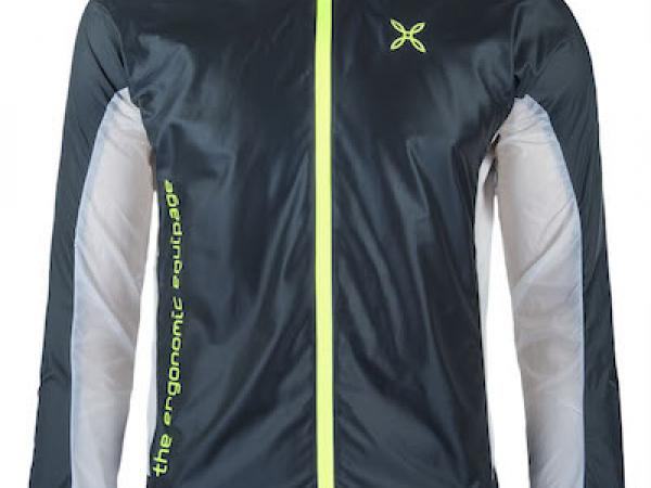 Opale jacket antracite/giallo fluo