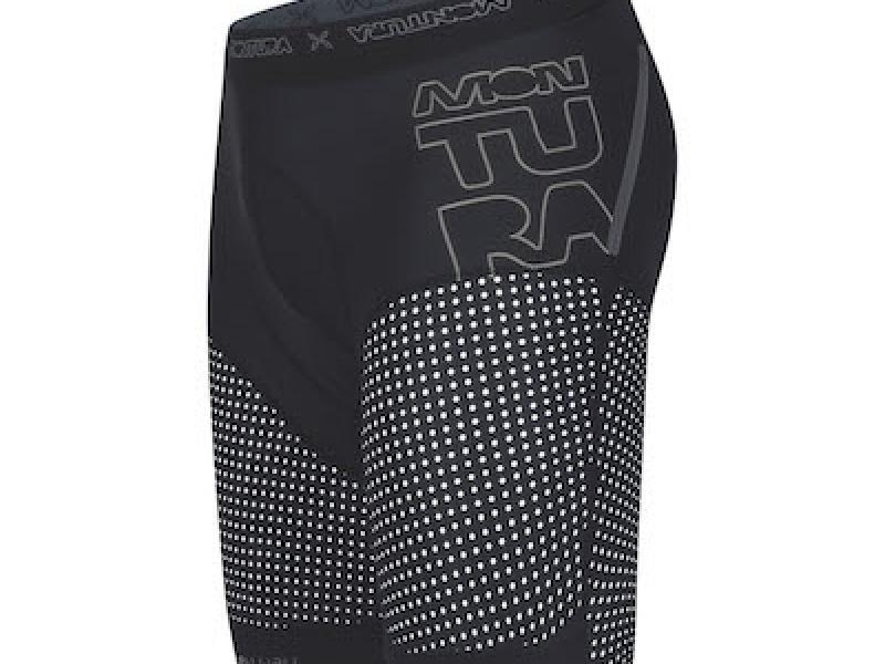 Breccia shorts nero