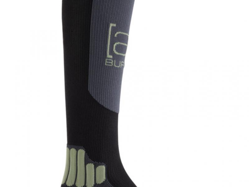 [ak]® Endurance Snowboard Sock - True Black