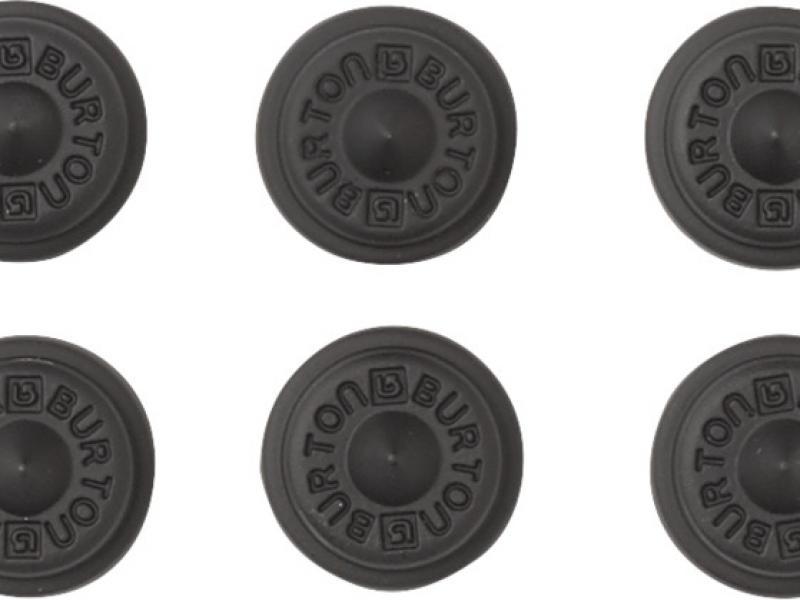 Aluminum Stud Stomp Pad - black