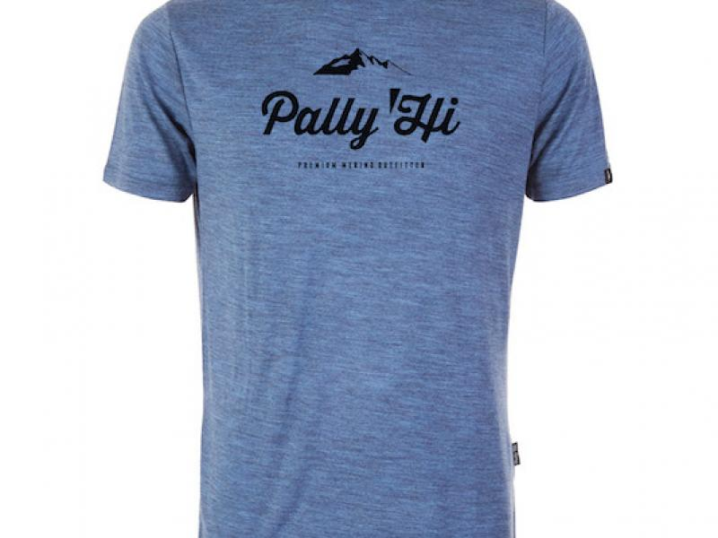 MEN'S T-SHIRT CLASSIC PEAK LOGO - blue heaven