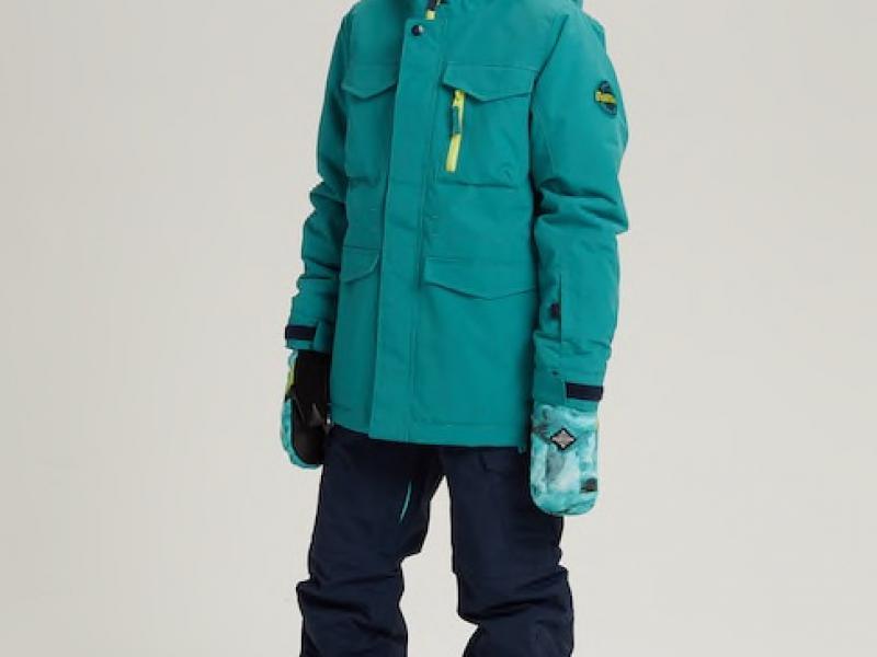 Covert Jacket - Green-Blue Slate / Satellite