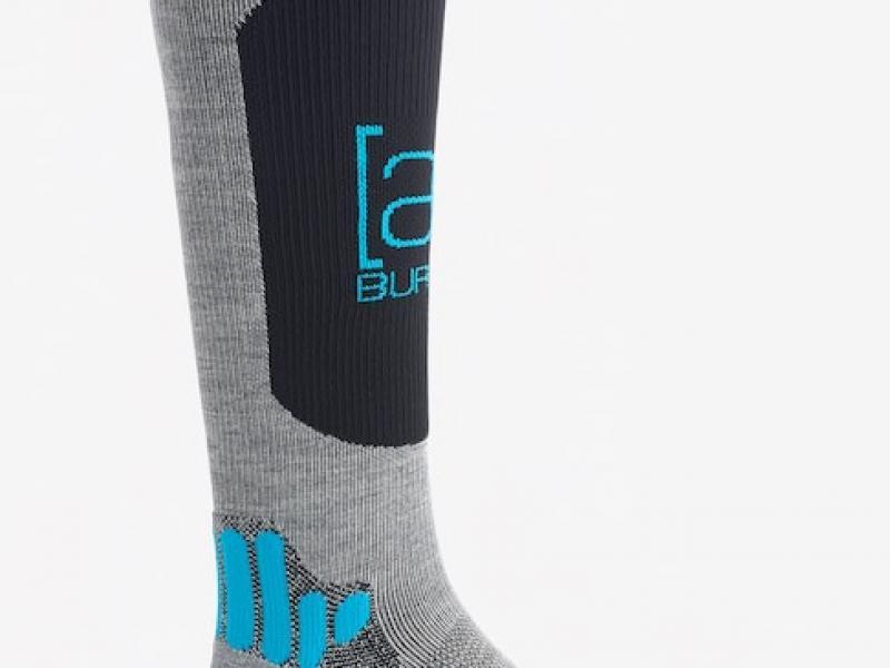 [ak] Endurance Sock - gray heather