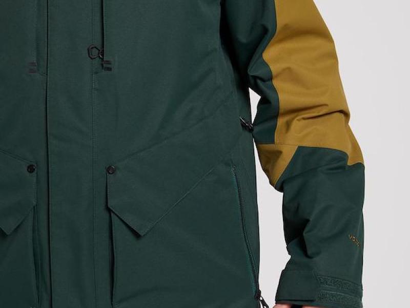Anders 2L tds jacket - dark green
