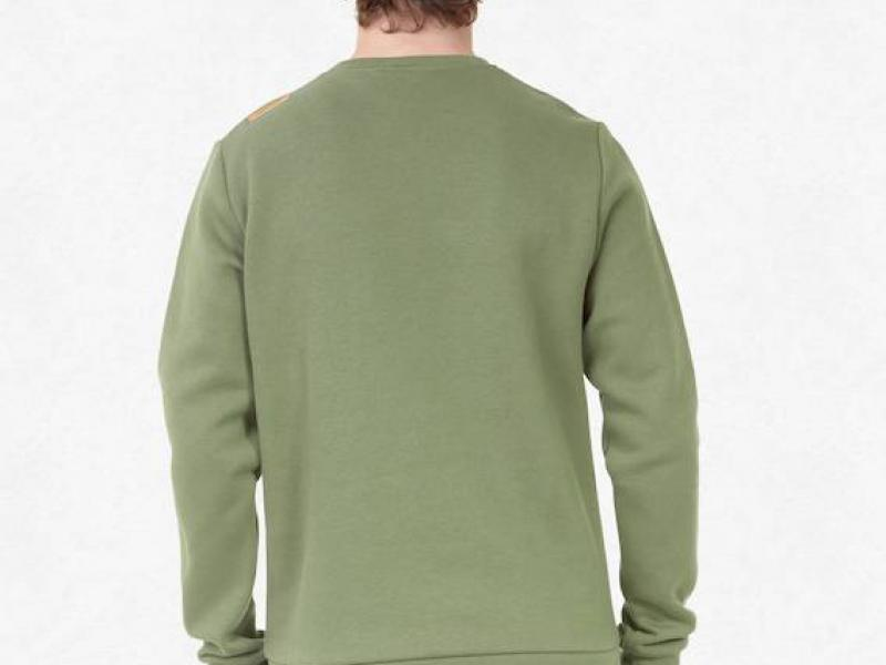 BASEMENT FLOCK CREW - army green