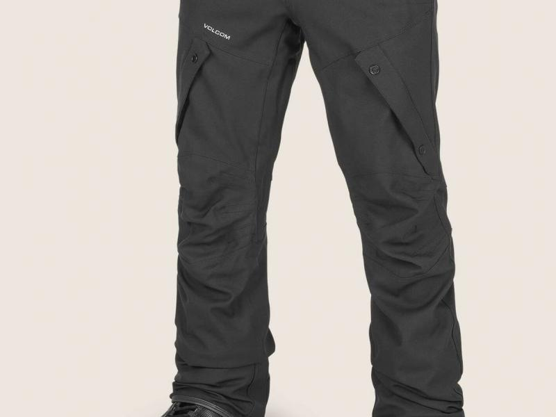 ARTICULATED PANTS - BLACK