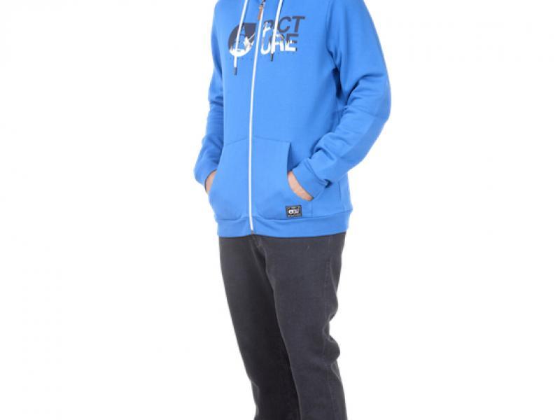 BASEMENT ZIP HOODIE - blue